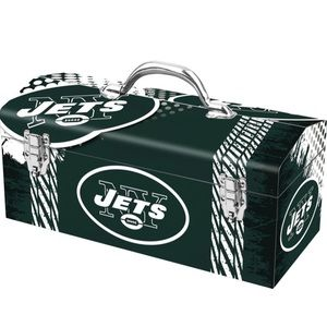 NFL NY Jets Team Tool Box Includes Tool Tray